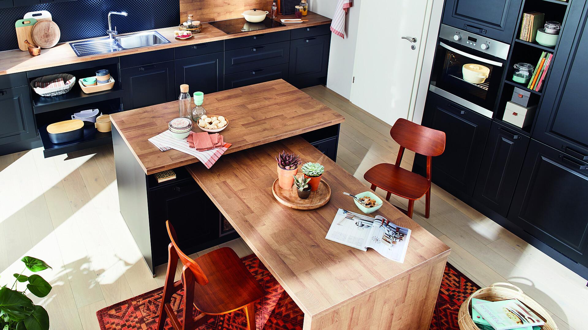 der passende esstisch für die küche
