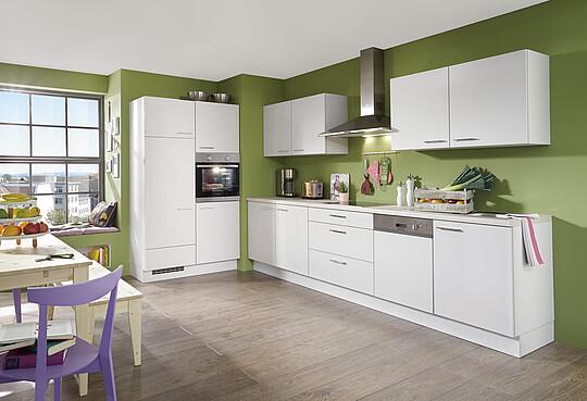 Weiße Küche: Vor- und Nachteile von hellen Küchen