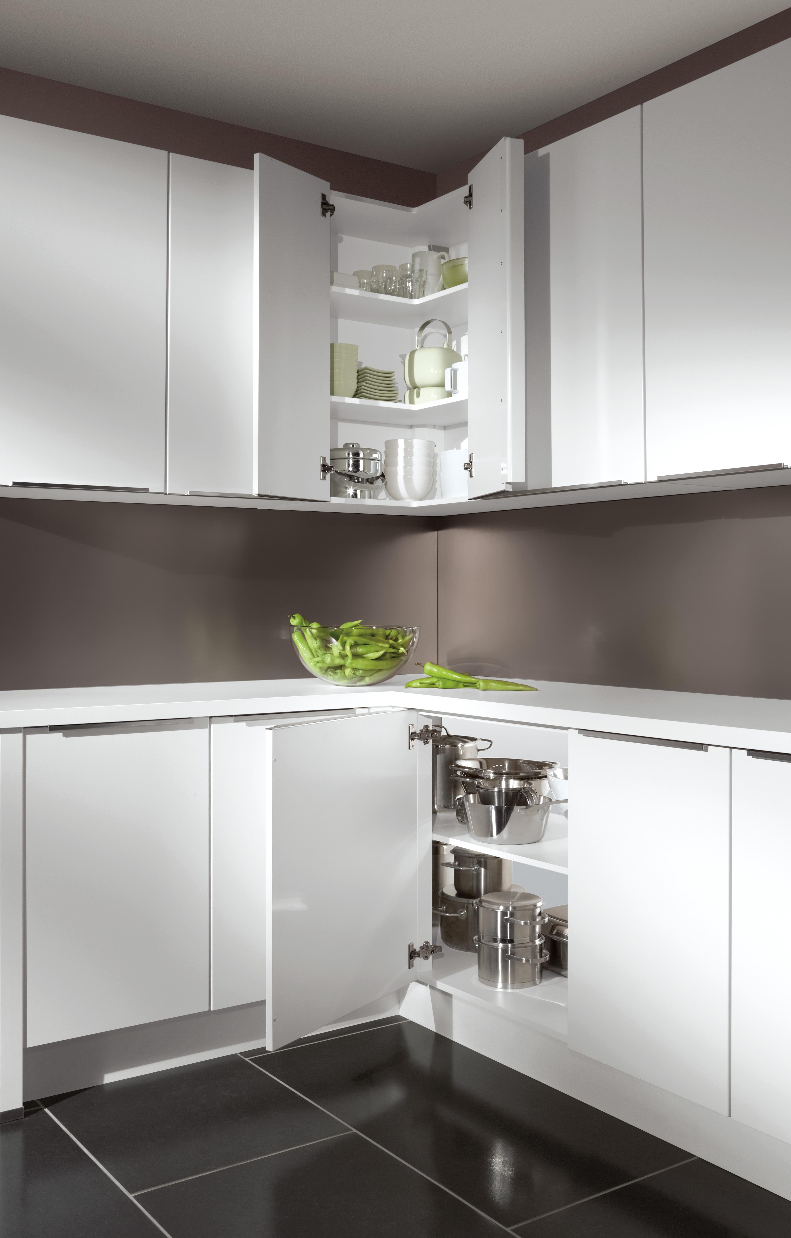Eckschrank in der Küche: alle Ecklösungen im Überblick