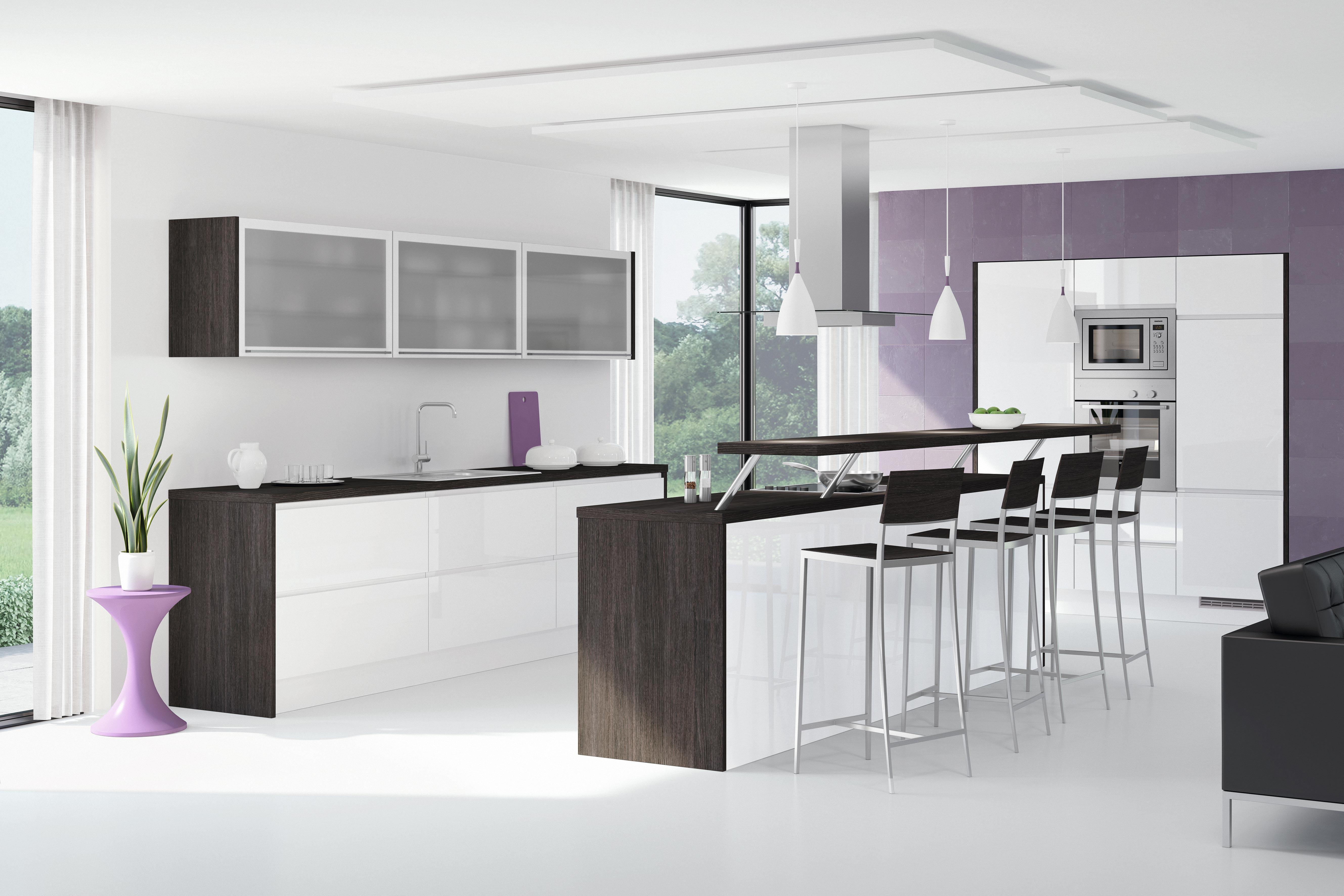 Gut gemocht Küchentheke: Diese Varianten sind in (fast) jeder Küche machbar XZ48