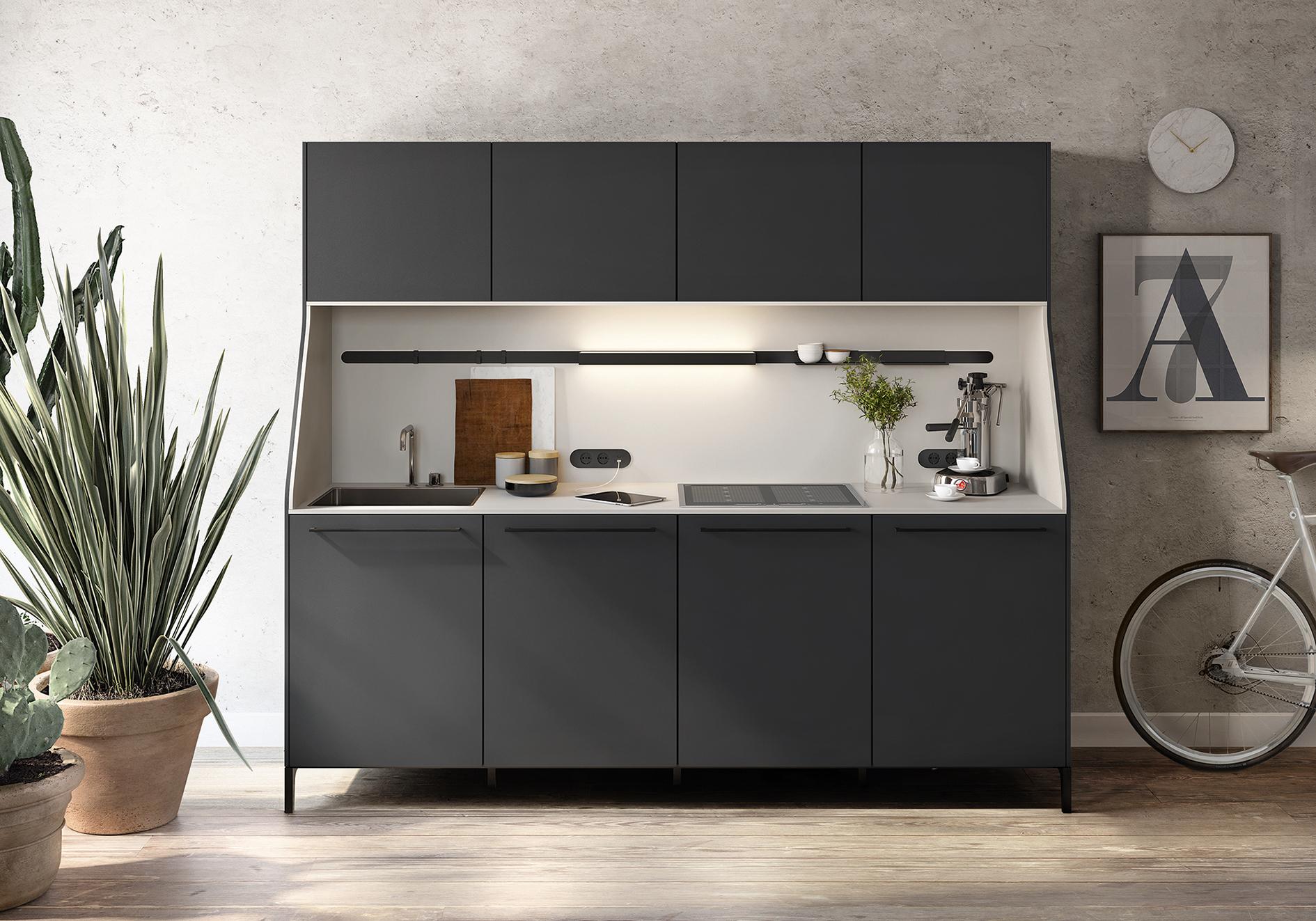 Häufig Kleine Küche: Tipps für die Planung und mehr Stauraum NE71