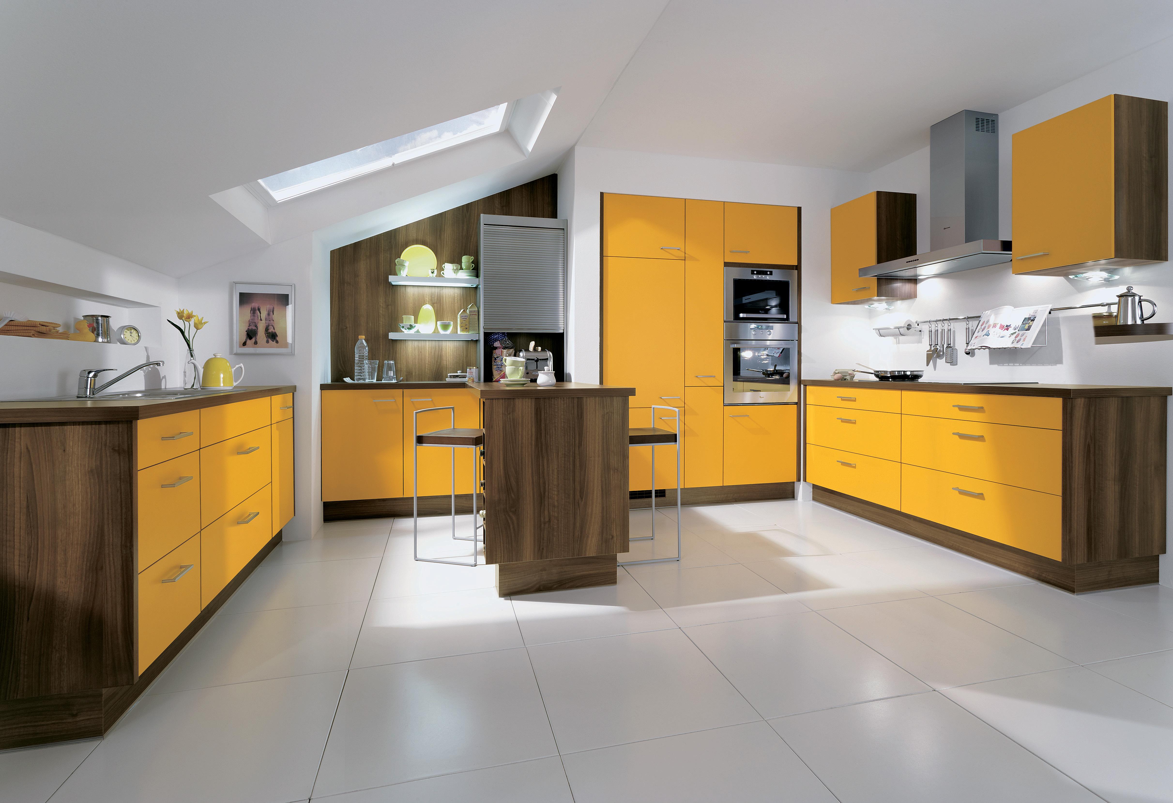 Küche mit Dachschräge: Tipps und Kniffe für die Planung
