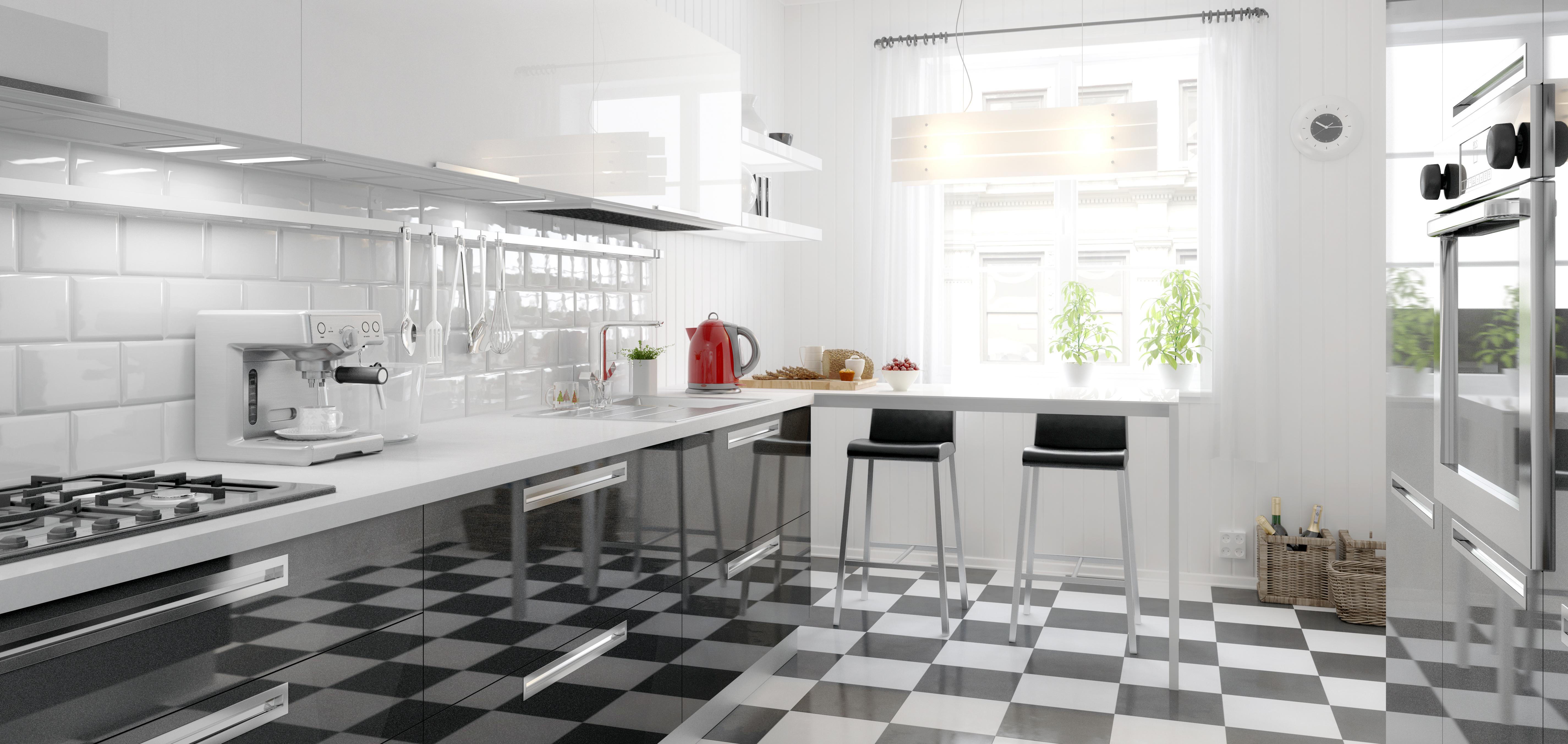 Extrem Küchenboden: Welcher Belag eignet sich für die Küche? KE54
