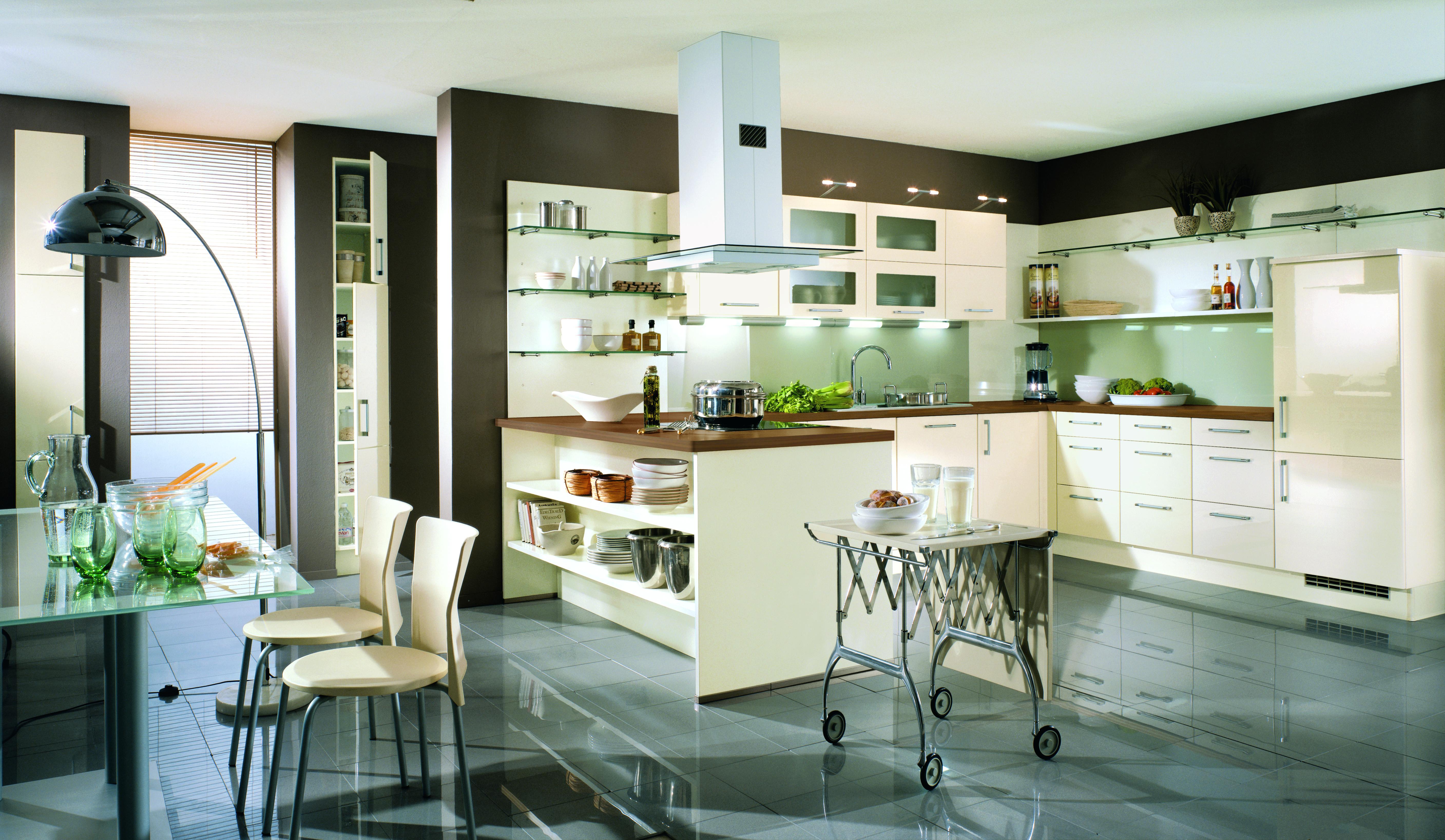 Was Sie über die offene Küche wissen müssen
