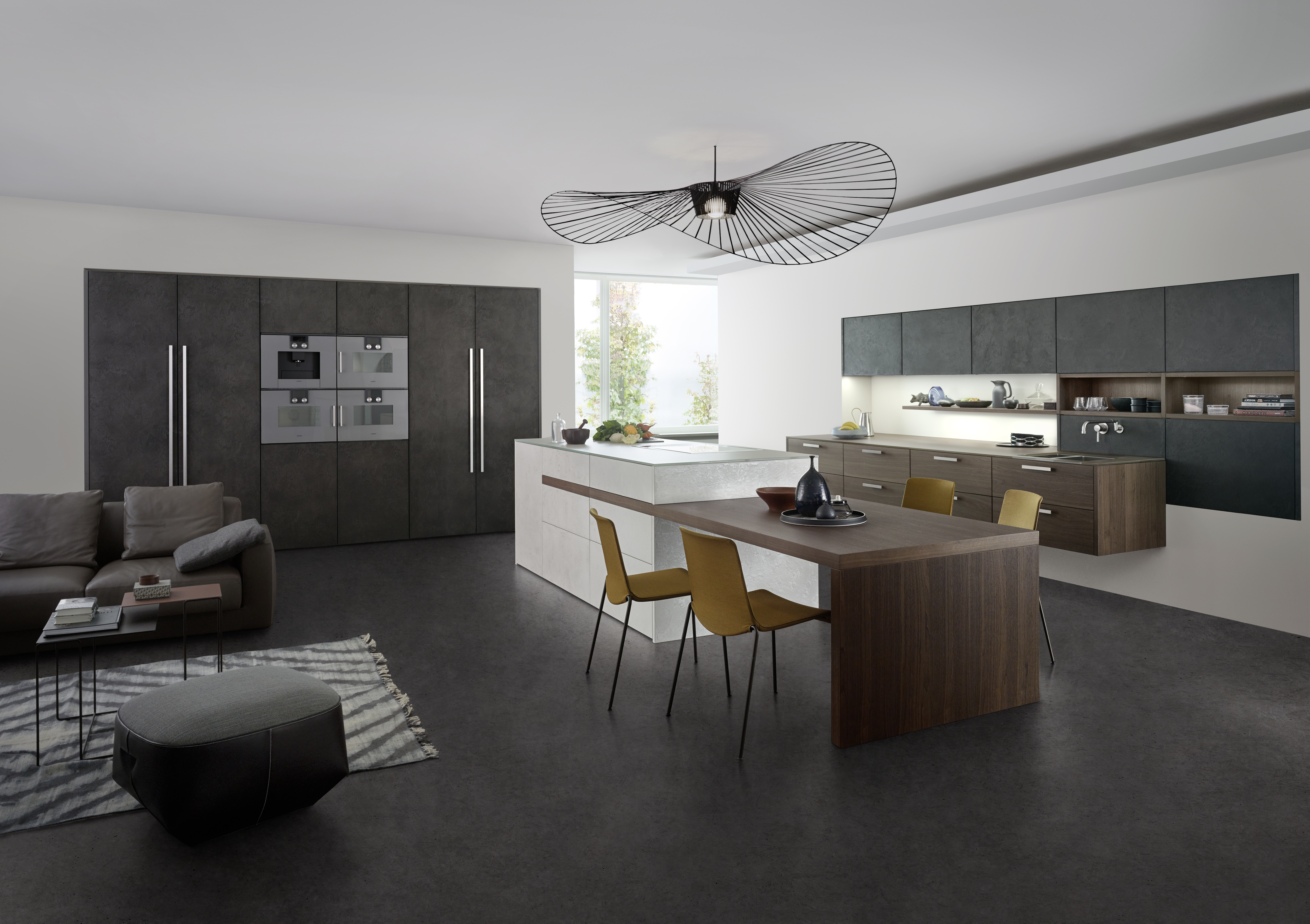Betonküche: Wie das graue Material die Küche erobert