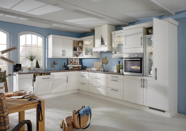 Fabulous Weiße Küche: Vor- und Nachteile von hellen Küchen BF93