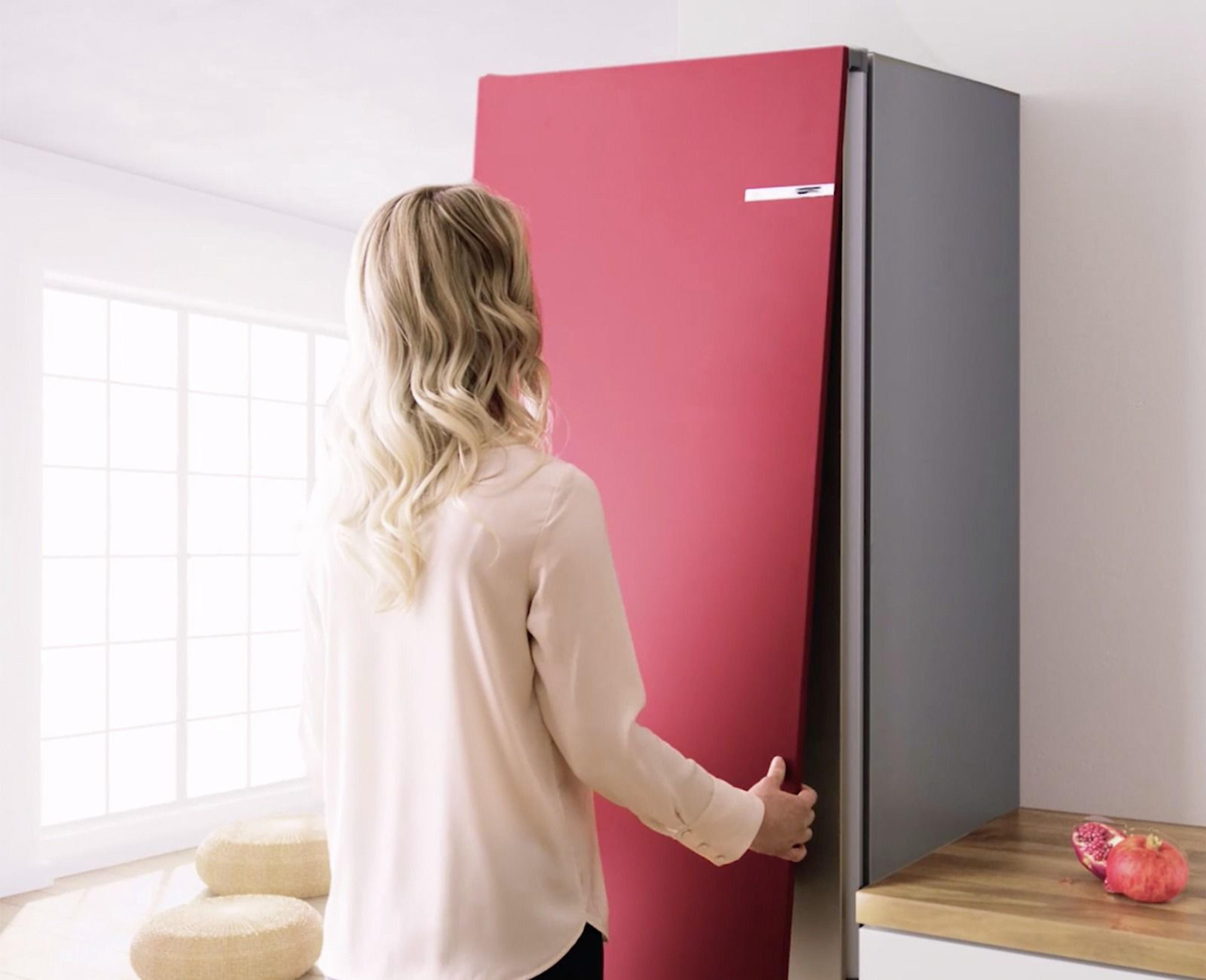 Bunter Bosch Kühlschrank