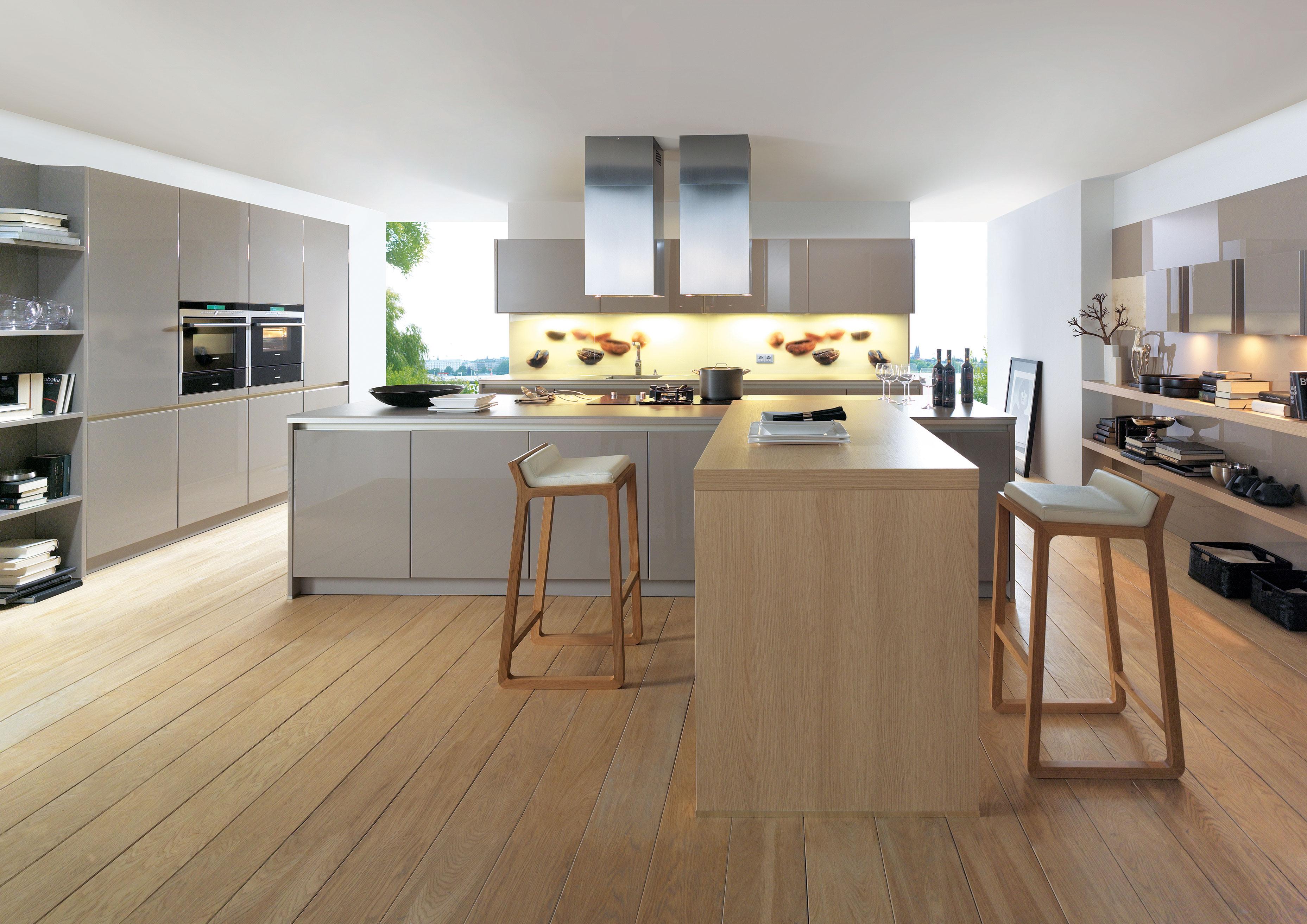 Extrem Küchenrückwand: Holz, Glas oder Metall? KM46
