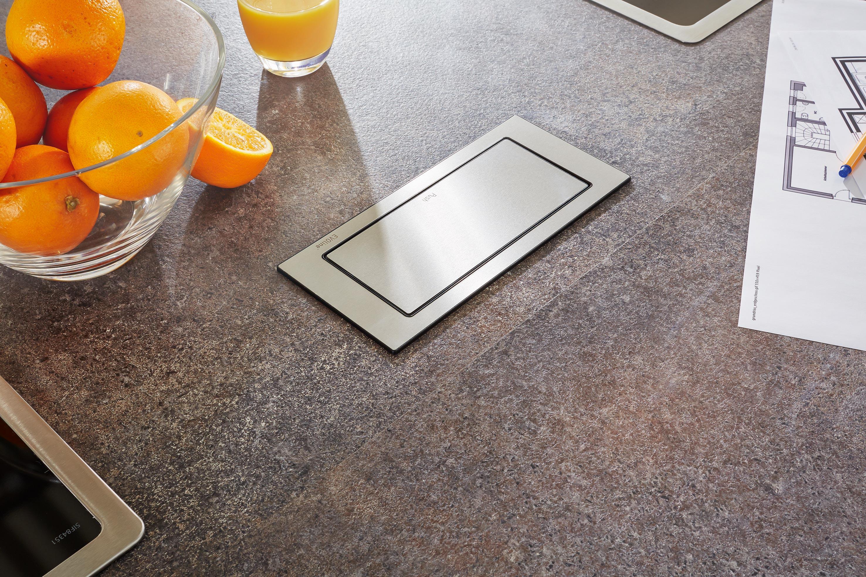 Versenkbare Steckdosen | Einbausteckdosen | Küchenzubehör